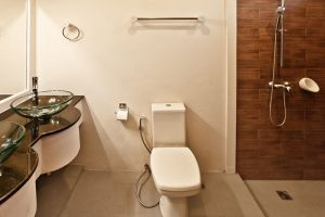 Sea View Studio Suites - Bathroom